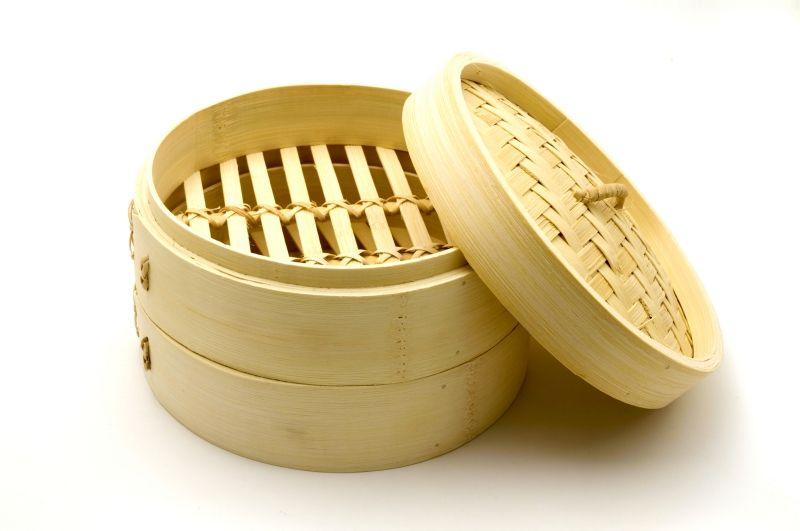 vaporera bambu