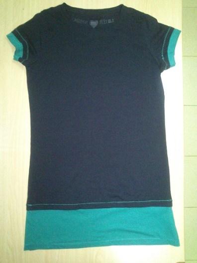 camiseta alargada