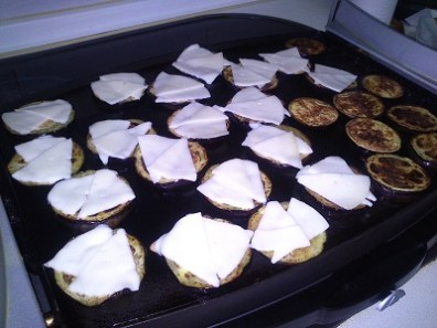 Berenjena,mozzarella y tomate (3)