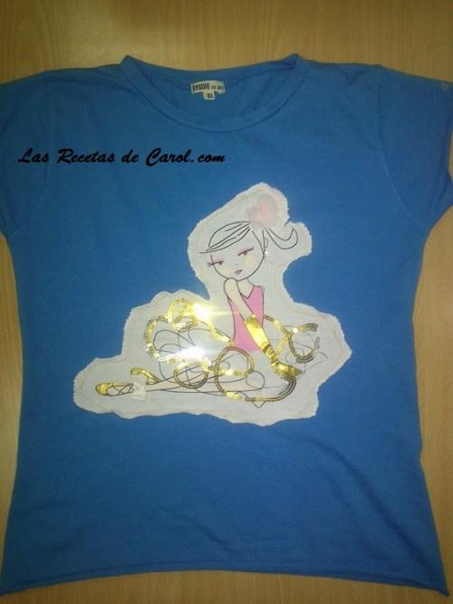Camiseta tuneada
