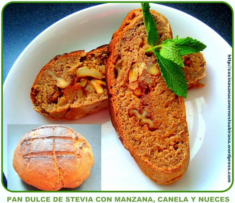 pan dulce de stevia