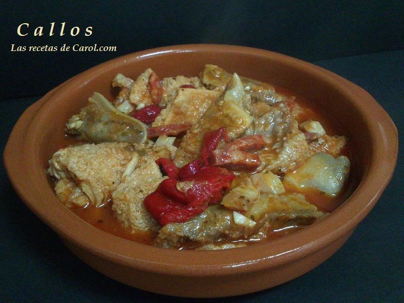 Callos -receta Burgalesa-