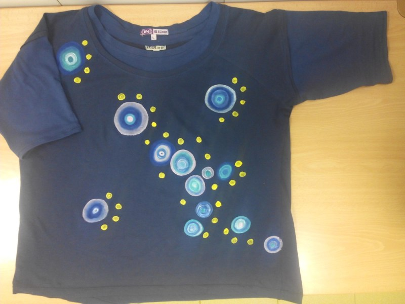 Pintar y modificar camiseta