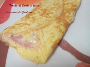Tortilla de jamón