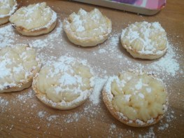 Tartaletas de crema (4)