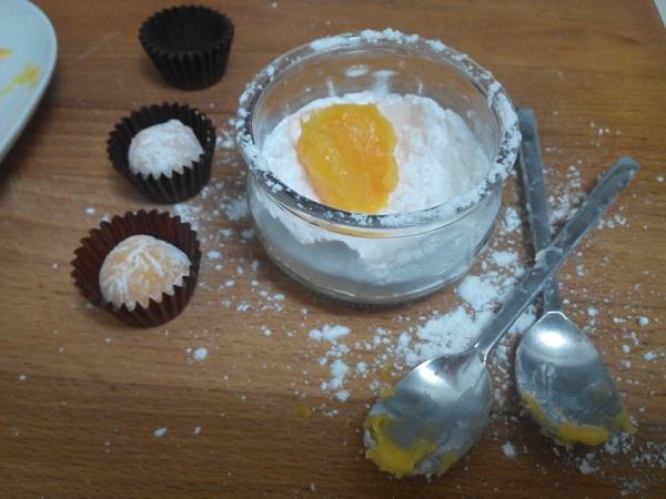 Yemas - Ingredientes