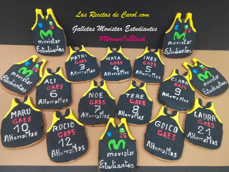 Galletas Camiseta Estudiantes Basket