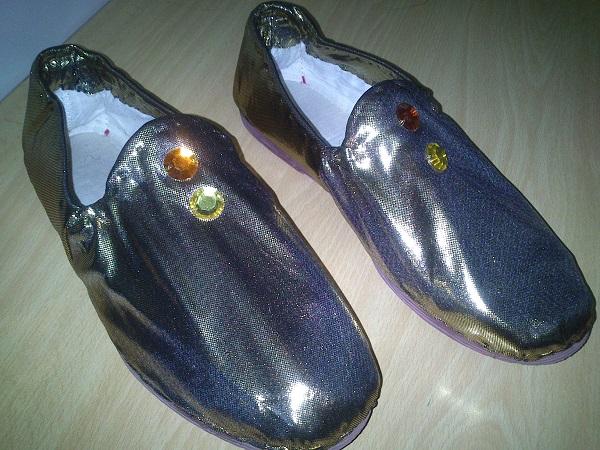 zapatos para disfraz egipcia