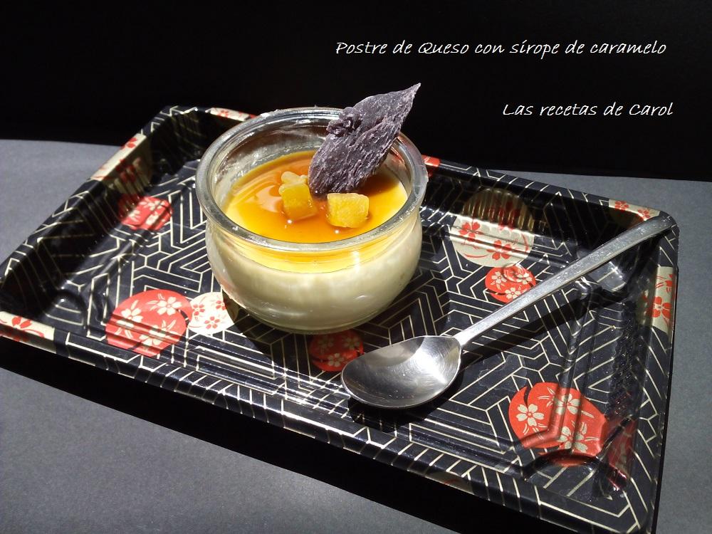 Postre de queso