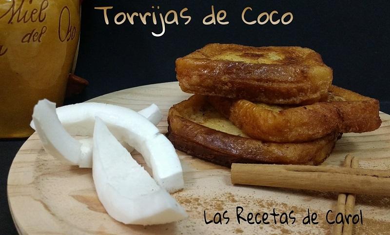 Torrijas de coco