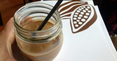 Smoothie de cacao natural