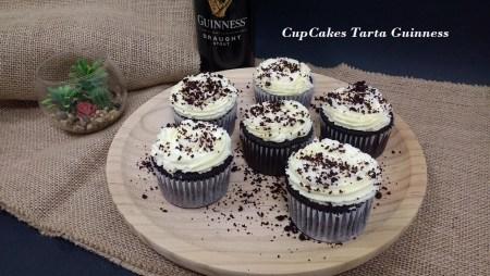 CupCakes tarta Guinness