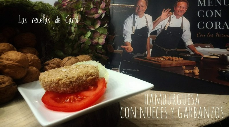 Hamburguesa vegetal con nueces - Hermanos Torres