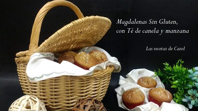 Magdalenas de Té de canela y manzana