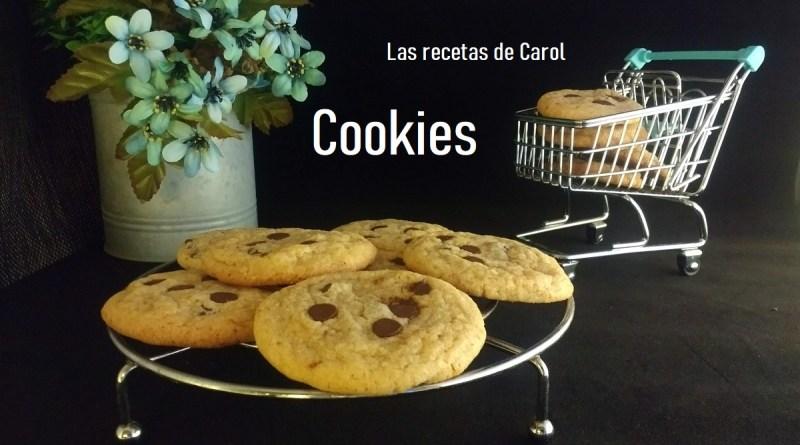 receta cookies americanas
