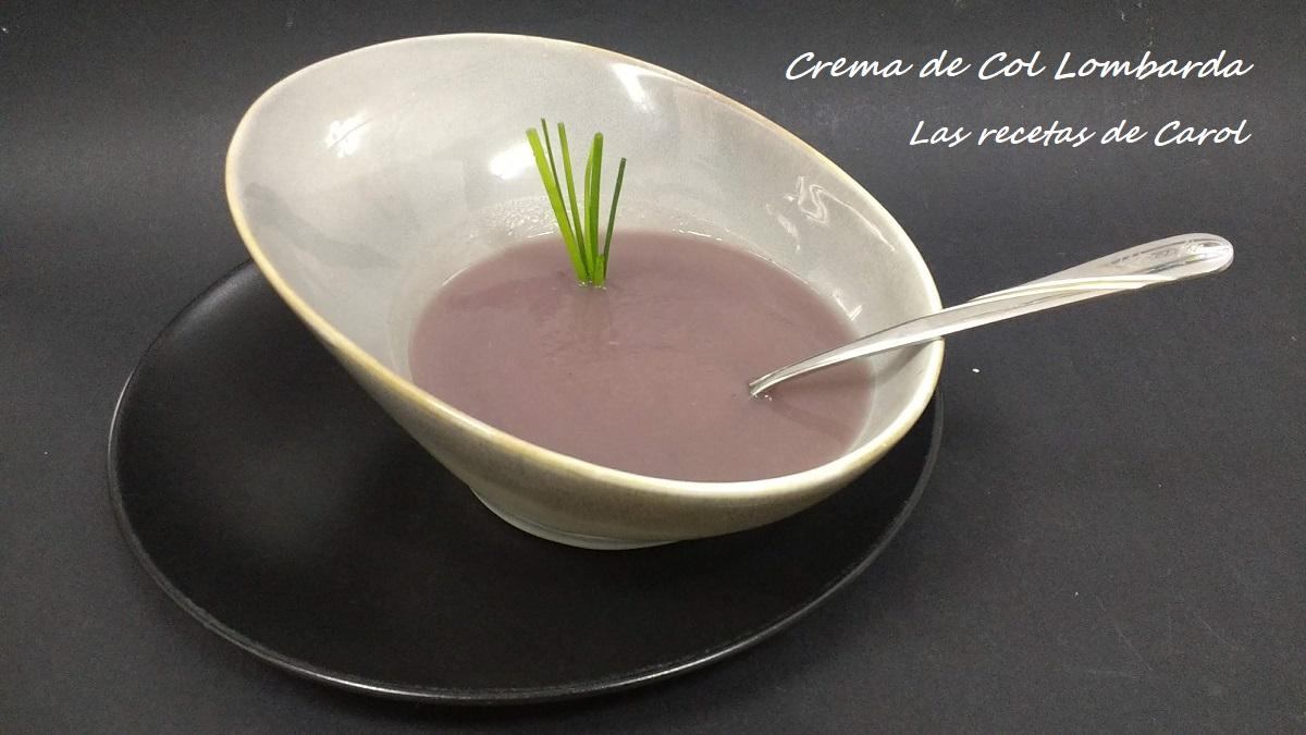 Crema de Col Lombarda