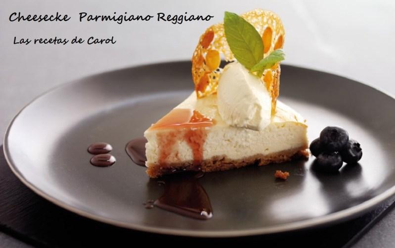 Cheesecake de Parmigiano Reggiano