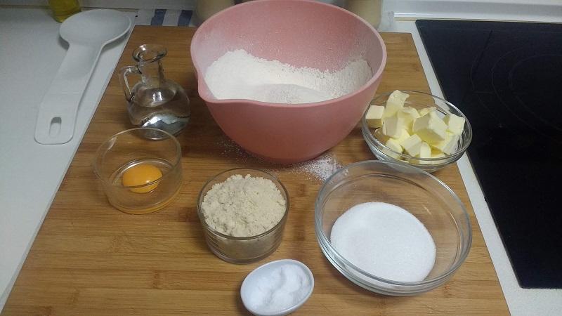 Tarta de fresas y crema