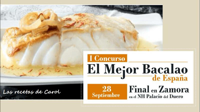 Presentación El Mejor Bacalao de España