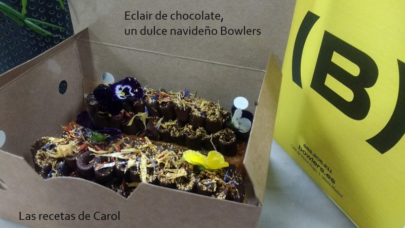 Eclair de chocolate Bowlers
