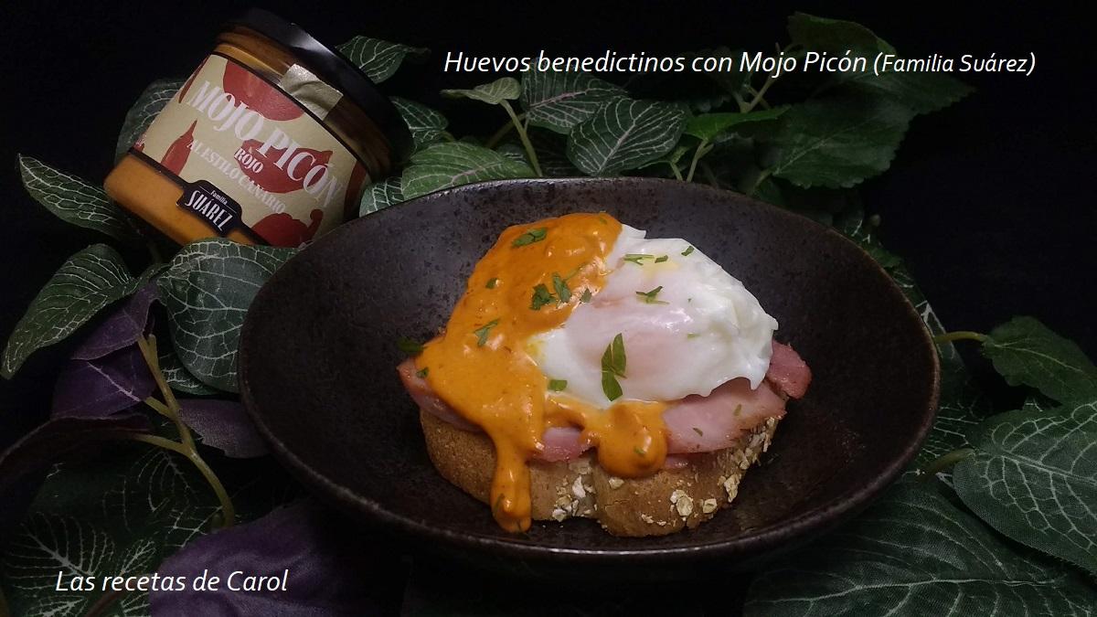 Huevos benedictinos con Mojo Picón