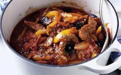 Recetas – Estofado de carne al estilo italiano