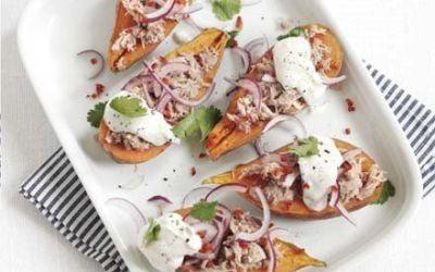 Recetas – Patata dulce con atún