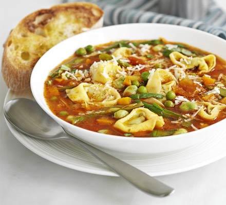 Recetas – Sopa de pasta