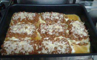 Recetas – Lasagna de carne italiana
