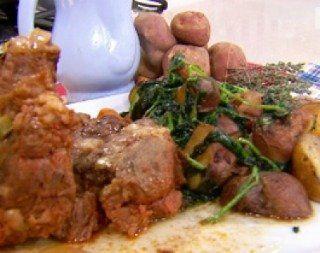 Recetas – Roast beef breseado con papines salteados
