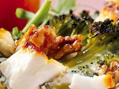 Recetas – Tarta de Brócoli, Queso Feta y Nueces