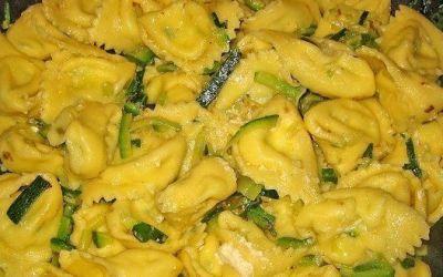 Recetas – Tortellini de calabacín