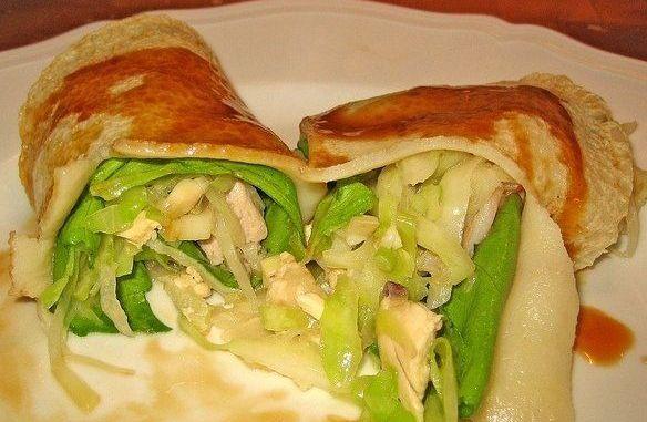 Recetas - Crepe con verduras