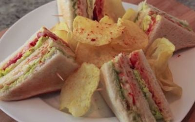 Recetas – Sandwich de Cangrejo King Crab Estilo Ribs