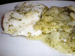 Recetas – Bacalao con patatas al microondas