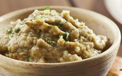 ¡Prepara Hummus de berenjena en 10 minutos!