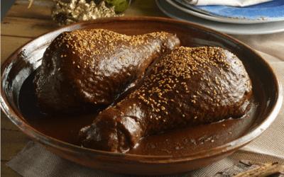 Rica receta de Mole Poblado