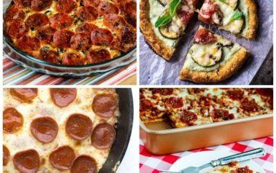 Las MEJORES recetas bajas en carbohidratos y sin gluten con sabores de pizza