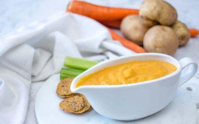 Salsa de queso vegano | Recetas veganas de VegKitchen
