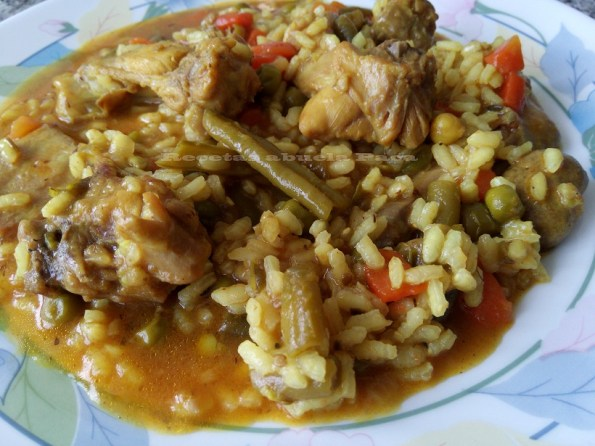 arroz caldoso con conejo y verduras blog222