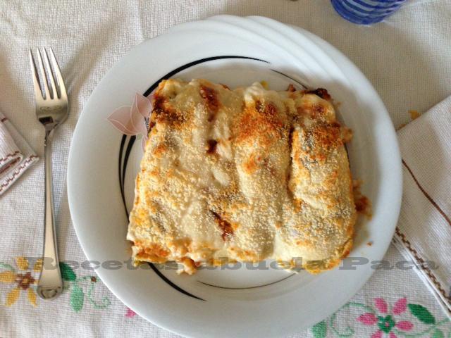 Canelones de pollo y espinacas0 (0)