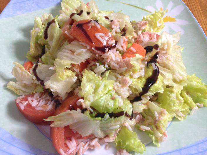 Ensalada con arroz basmati0 (0)