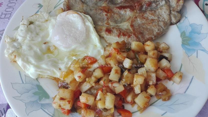 Picadillo de verduras con patatas0 (0)