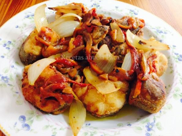 merluza con verduras asada blog