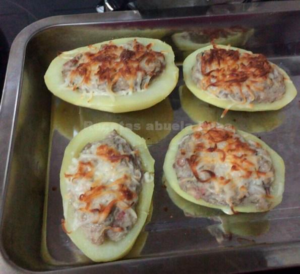 patatas rellenas de setas con bacon de pablo andrade thermomix blog