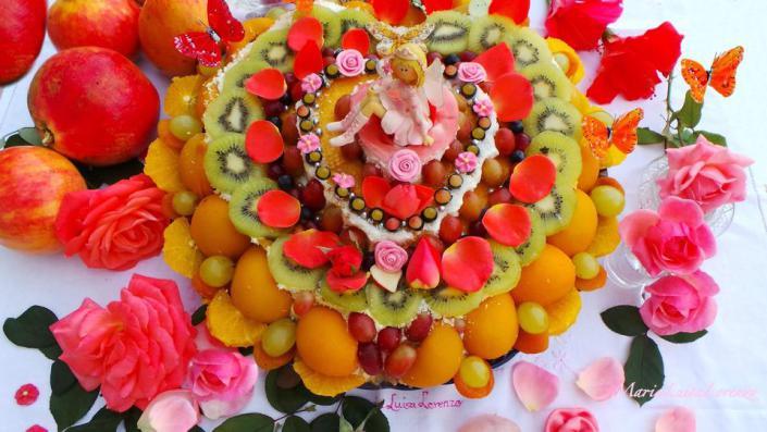 Tarta de frutas ofrecida por María Luisa Lorenzo0 (0)