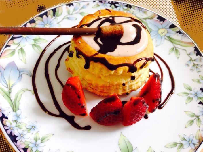 Tartaleta de crema de fresas0 (0)