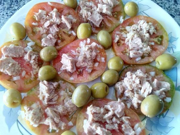 tomate con atún blog