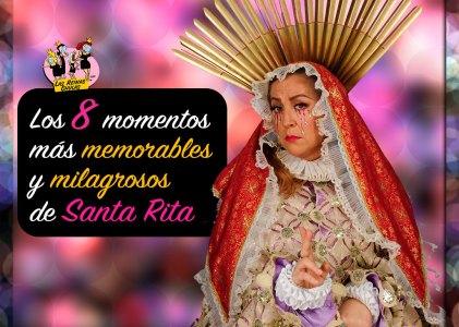 Los 8 momentos más milagrosos de Santa Rita