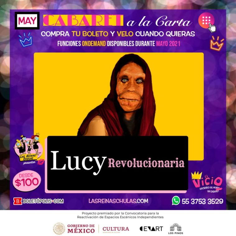 Lucy, Revolucionaria · Mayo 2021